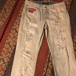 Lovesick mesh jeans
